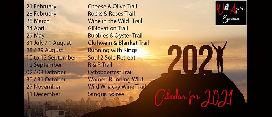 Next Event: 2021 Calendar